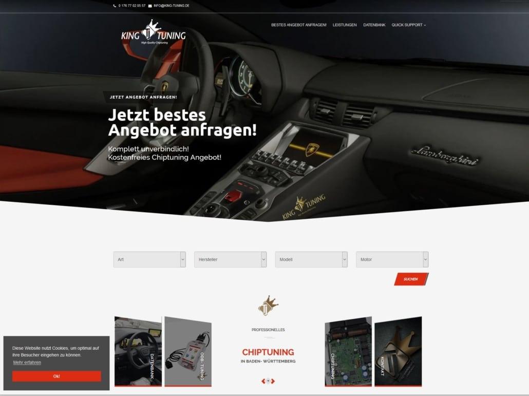 günstige webseite kaufen